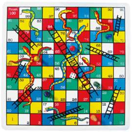 Snakes and Ladders Big One (2.5x2.5m)