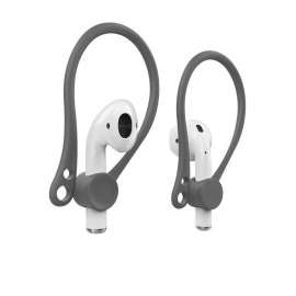 AhaStyle EarHooks for Apple Airpods Perfect Fit - Grey