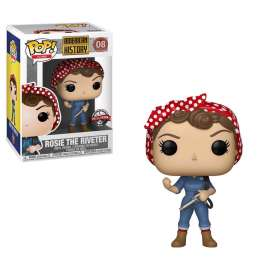 Funko POP Icons: History - Rosie the Riveter (EXC) (FU41712)