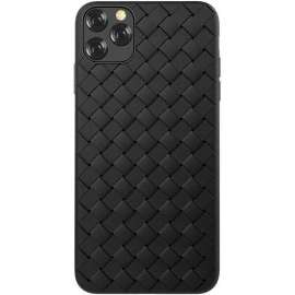 Joyroom Pattern Design Soft Case iPhone 11 Pro Max - Black