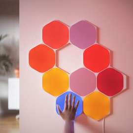 NanoLeaf Shapes Hexagon Light Panels - 3 Panels Expansion (Panels Only) - White