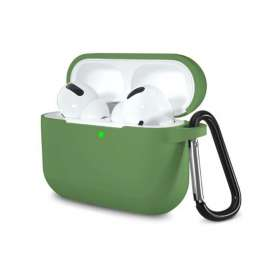AirPods Pro Protective Silicon Case - Green