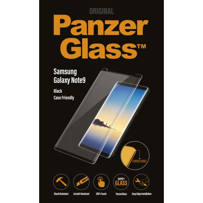 PANZER GLASS FOR GALAXY NOTE 9 PRIVACY & CASE FRIENDLY