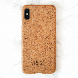 15:21 iPhone Xs Max Cork Case