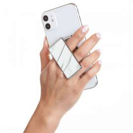 Handl Stick Phone Grip & Stand - Marble White