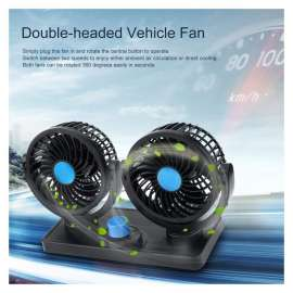 Double-Headed Vehicle Fan (12V) HX-T303