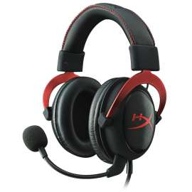 HyperX Cloud II - Red - Gaming Headset For PS4, XBOX 1, Nintendo Mobile & MAC