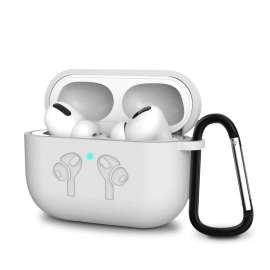 AirPods Pro Soft Silicone Full Protective Case - White