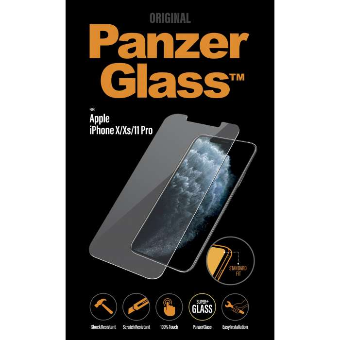 PanzerGlass Screen Protector for iPhone 11 Pro Clear (5.8)
