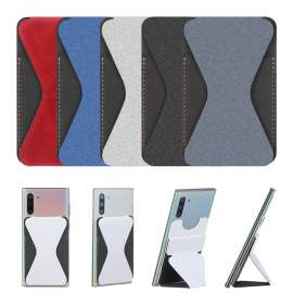 Smart Grip Magnetic Foldway Wallet Stand For Mobile