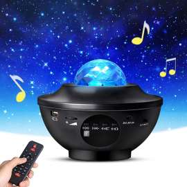 3D Gaming RGB Starry Projector Light Built in speaker with remote (Big Size)