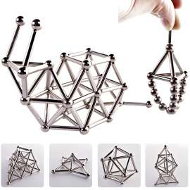 3D Magnetic Bucky Balls & Magnetic Stick Blocks