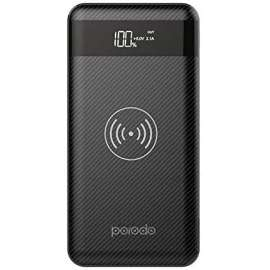 Porodo Wireless Power Bank 10000mah with dual USB port for Gaming Mobile