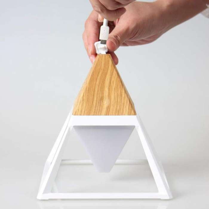 Pyramid LED Table / Desk Lamp