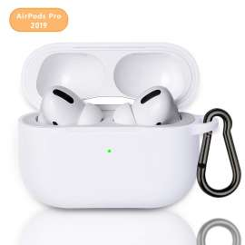 AirPods Pro Protective Silicon Case - White