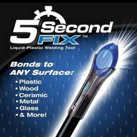 5 Second Fix , Fill & Seal in Second