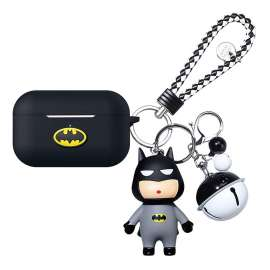 Airpods Pro Batman Soft Silicon Case With keychain