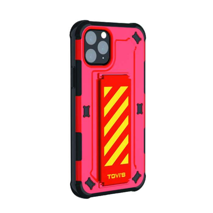 TGVIS Pursuit Series Case For iPhone 11 Pro - Red