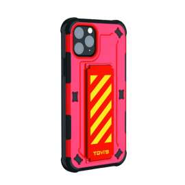 TGVIS Pursuit Series Case For iPhone 11 Pro Max - Red