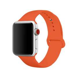 SILICON STRAP FOR APPLE WATCH - ORANGE