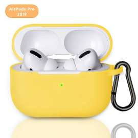 AirPods Pro Protective Silicon Case - Yellow