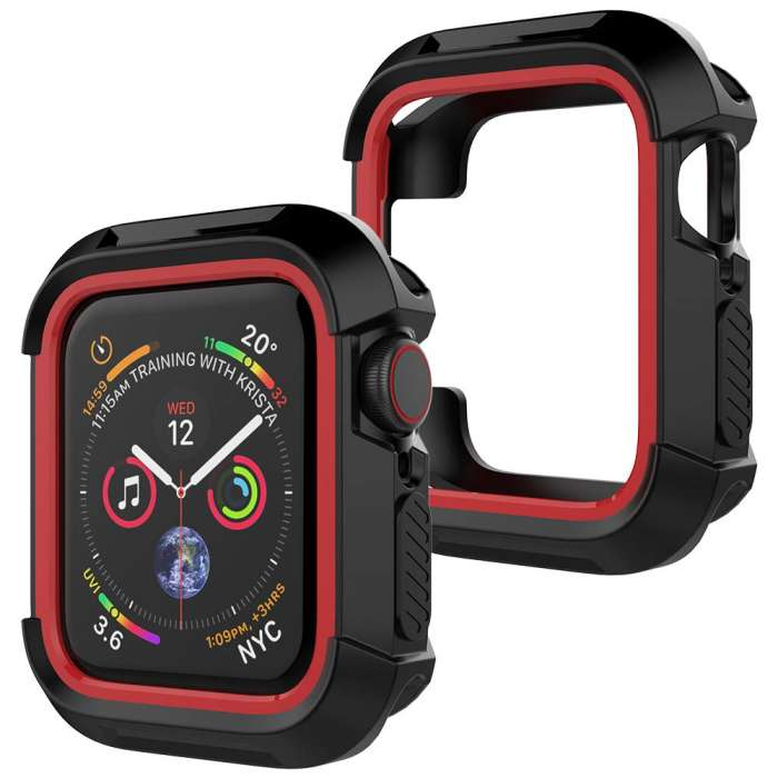 Apple Watch 4 case  TPU Shockproof  Bumper Case - 44mm