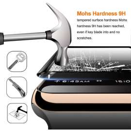 Nano Tempered Glass Screen  Protector For Apple watch Series 3/4/5 - 38 to 44mm