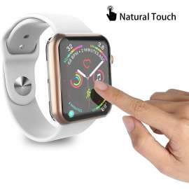 360 Case for Apple Watch Series 5 / Series 4 Screen Protector 38to44mm - Clear
