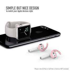 AHASTYLE AirPods & Earpods Ear Hooks Silicone - Pink