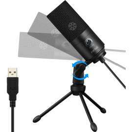 FIFINE Studio USB Microphone Metal Condenser Recording for Laptop MAC or Windows K669B