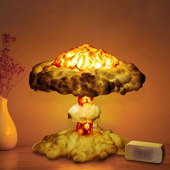 Nuclear 3D LAMP Night Light