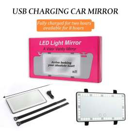 Led Light Mirror A vision Vanity Mirror