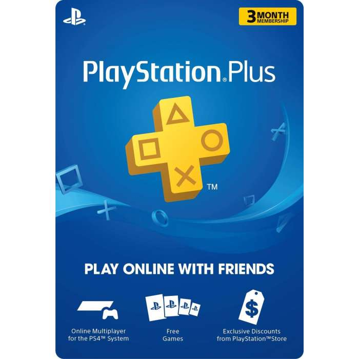 Sony Playstation Plus 3-Months - US (Digital Code)