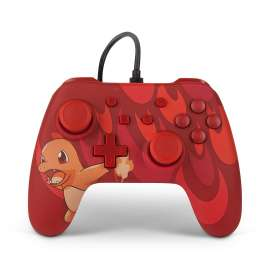 Nintendo Switch Wired Controller - Blaze Charmander