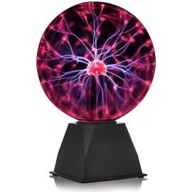 Glass Magic Plasma Ball Table Led Light