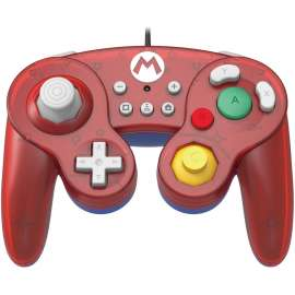 HORI Nintendo Switch Battle Pad GameCube Style Controller - Super Mario