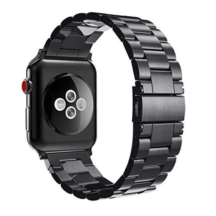 Apple Watch Stainless Steel Strap - Black