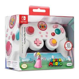 Nintendo Switch PDP Wired Controller - Super Mario Bros Princess Peach