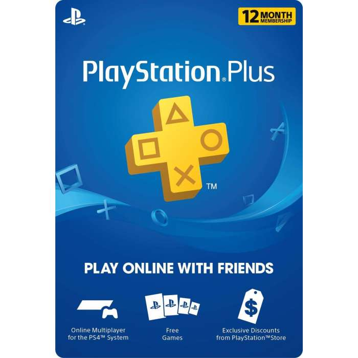 PSN Plus 12 Month - US (Digital Code)