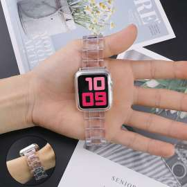 Great Case Acrylic Watch Band For Apple Watch 38-44 - Clear