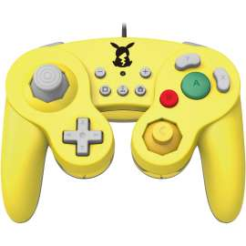 HORI Nintendo Switch Battle Pad GameCube Style Controller - Pikachu