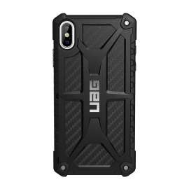 UAG Monarch Series Case for iPhone XS Max 6.5inch - Black Carbon Fiber