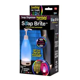 Soap Brite Lighted Dispense 7 Color Light