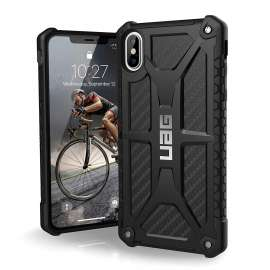 UAG Monarch Case For iPhone XS (5.8) - Crimson Black