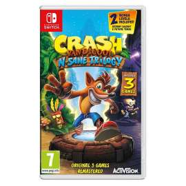 Crash Bandicoot N. Sane Trilogy - Nintendo Switch - PAL