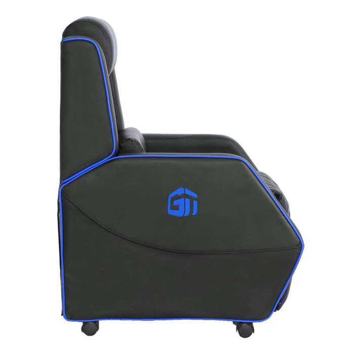GamerTek Recliner Couch Gaming Sofa XL- Blue/Black