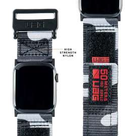 UAG - Active Strap for Apple Watch 44/42 mm - Midnight Camo