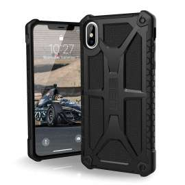 UAG Monarch Case For iPhone XS Max (6.5) - Crimson Black