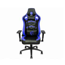 MSI GAMING CHAIR Complete steel frame support 4D Multi-Adjustable seat - L (Blue)