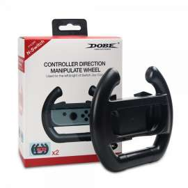 DOBE Controller Direction Manipulate Steering Wheel Grip Handle For Nintendo